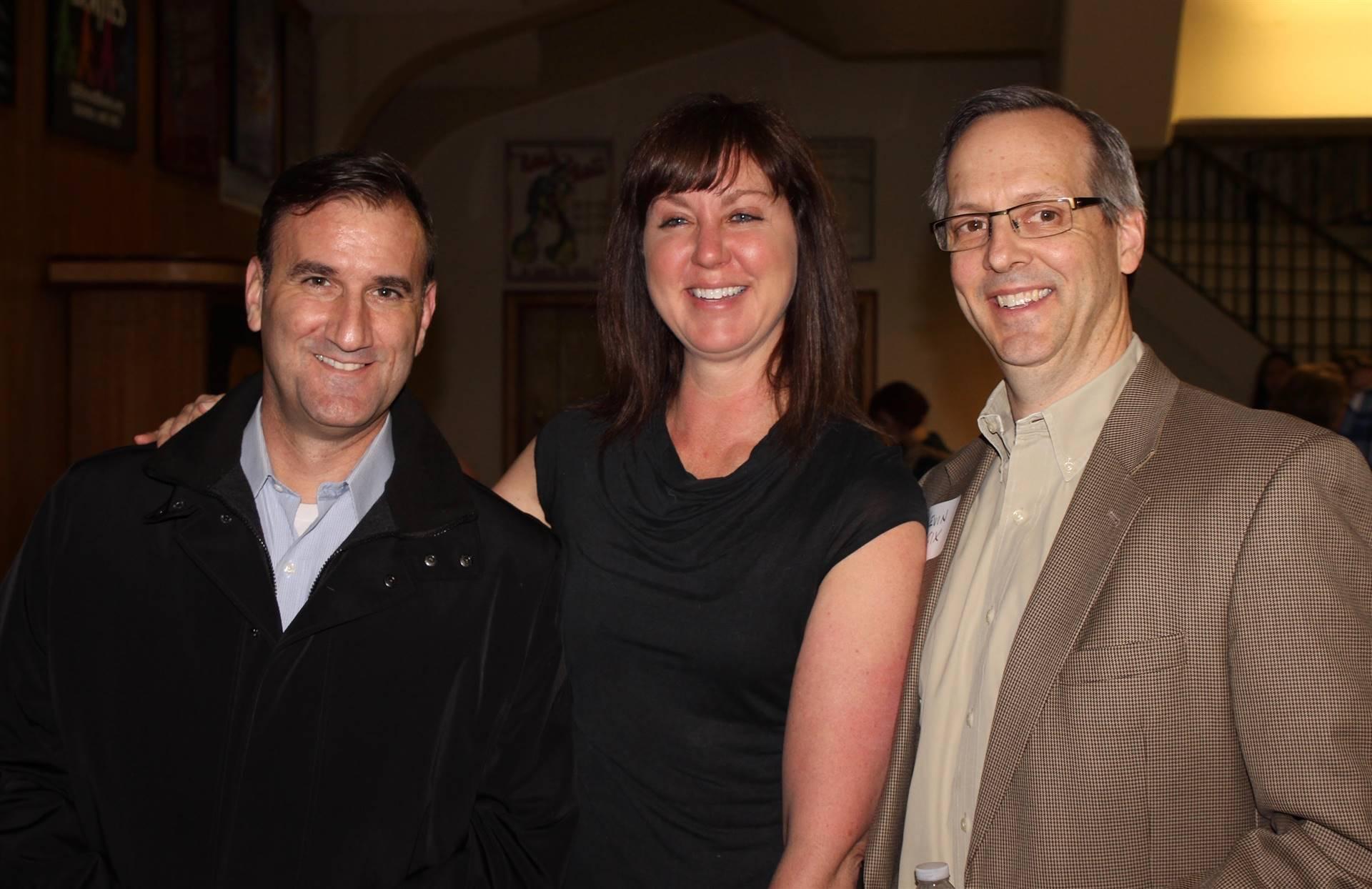 Scott Hutchinson Jennifer Reed and Kevin Fix